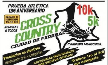 """Prueba atlética """"136º aniversario"""" y cross country """"Ciudad de Federal"""""""