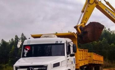 Continúa la reparación de caminos secundarios en el departamento La Paz