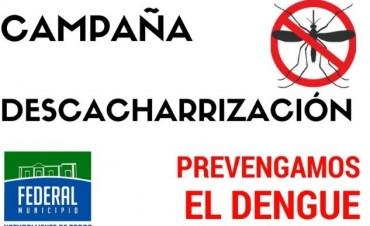 CAMPAÑA DE DESCACHARRIZACIÓN BARRIAL
