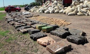 Confirmaron la cantidad de droga incautada en Ruta 127: La trasladan a Córdoba