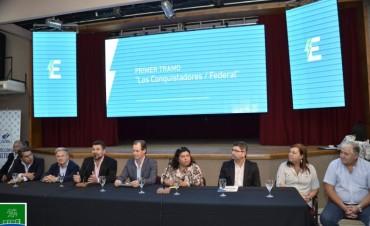 EL GOBERNADOR REALIZÓ APERTURA DE SOBRES PARA EL CIERRE ELÉCTRICO DEL NORTE PROVINCIAL