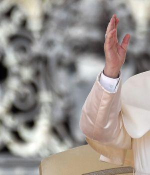 Francisco rezó por México en medio de la tragedia