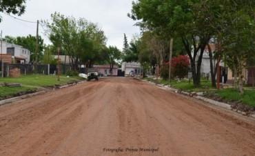 El Municipio prioriza Obras de mantenimiento Vial