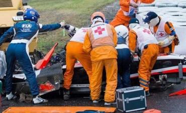 F1: Ganó Hamilton en Japón pero no festejó por el grave accidente de Bianchi