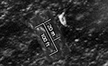 La imágen satelital que alimenta la esperanza de hallar al Tunante II