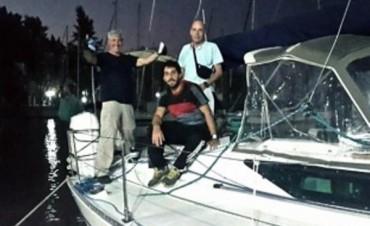 Búsqueda en Brasil: confirmaron que la balsa hallada es del Tunante