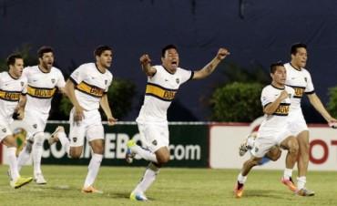 Un gran desahogo: Boca le ganó a Capiatá por penales y está en cuartos de la Copa Sudamericana