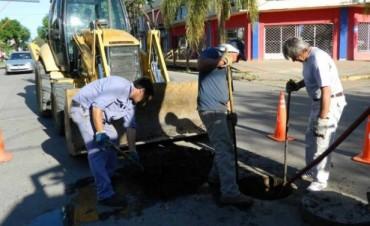 El Municipio concreta un importante trabajo de limpieza en las redes troncales de cloacas