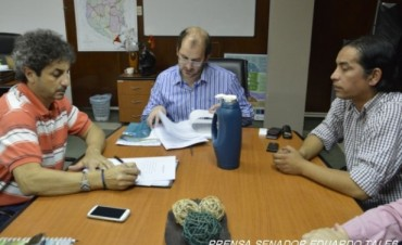 El Ministro de Desarrollo Social de la provincia coordina acciones para el Departamento Federal