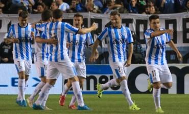 En un gran partido, Racing ganó e impidió el festejo de Boca en Avellaneda