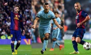 Messi, Agüero y Mascherano están entre los candidatos al Balón de Oro