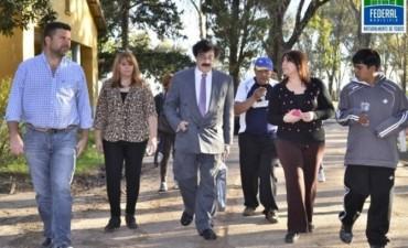 El Intendente junto al Dr Mario Crocco visitaron el Hospital