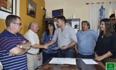 ENTREGA DE APORTES A INSTITUCIONES DEPORTIVAS