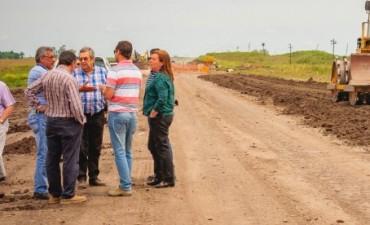 Avanza la obra básica para el asfaltado de la ruta provincial 51 entre Larroque y Parera