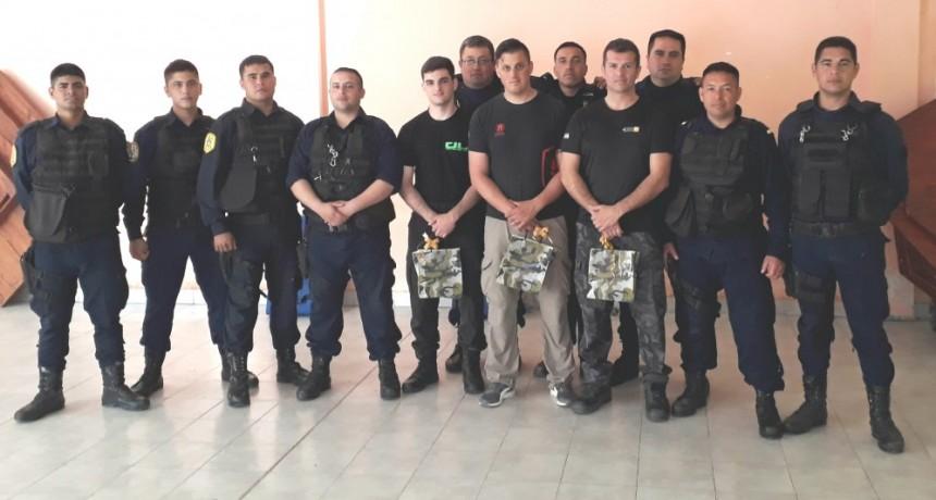 SE REALIZO UNA NUEVA JORNADA DE ENTRENAMIENTO POLICIAL