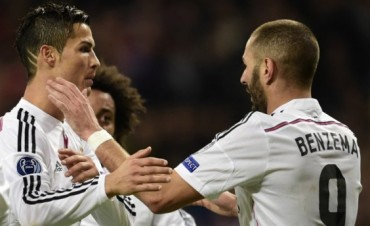 Real Madrid derrotó al Liverpool y avanzó a los octavos de final