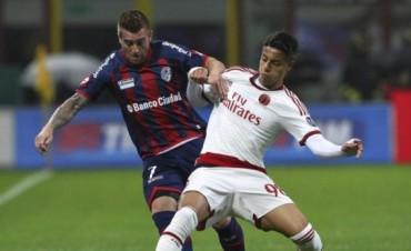 San Lorenzo cayó ante el Milan en su visita a Italia antes de jugar el Mundial de Clubes