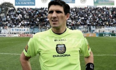 La AFA suspendió al árbitro Andrés Merlos por tiempo indeterminado