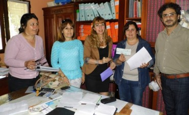 """La Escuela NINA N° 2 """"Justo José de Urquiza"""" recibió un aporte del programa Inclusión Educativa"""