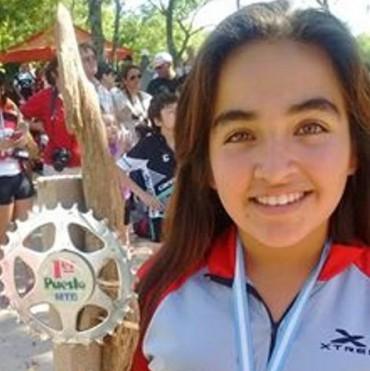 Yasmin Boxler se consagró campeona Provincial de Mountain Bike