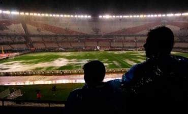 El encuentro entre Argentina y Brasil se suspendió por la lluvia