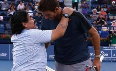 Copa Davis: Maradona será un hincha más y acompañará al equipo argentino