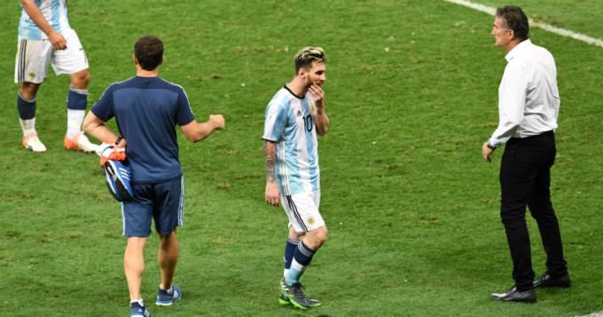 Messi tras la derrota: