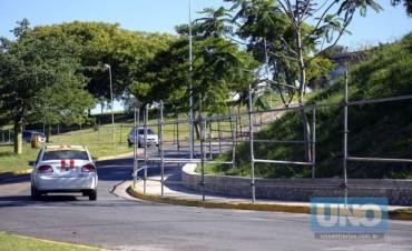 Comenzaron a vallar la zona protegida para la Cumbre en Paraná
