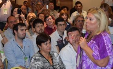 Carrió anunció que se postulará como diputada del Parlasur