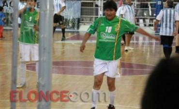 """Me siento como en la zona del trópico de Cochabamba"", dijo Evo Morales en Paraná"