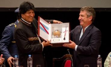 Evo Morales recibió el título Doctor Honoris Causa