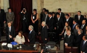 Bordet participó de la jura del nuevo presidente Mauricio Macri