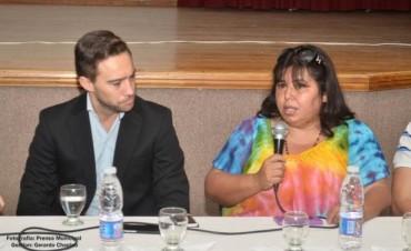 Este domingo presentará Nancy MIranda los funcionarios de las reparticiones públicas en Federal