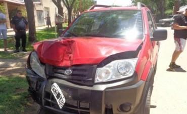 Tras descomponerse se accidento el Vice Intendente de Federal, Rubén