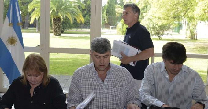 Macri con su Gabinete: Es un retiro espiritual... y electoral