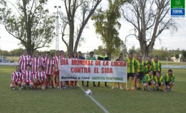 JORNADA RECREATIVA Y DEPORTIVA EN ADHESIÓN AL DÍA DE LA LUCHA CONTRA EL SIDA
