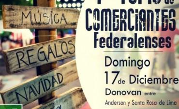LA 1ª FERIA DE COMERCIANTES FEDERALENSES SE REALIZARÁ EL PRÓXIMO DOMINGO
