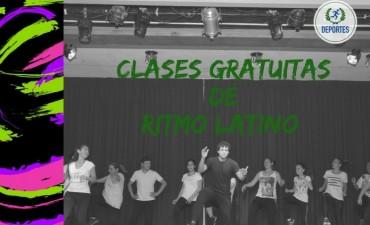 HOY COMIENZAN LAS CLASES GRATUITAS DE RITMO LATINO