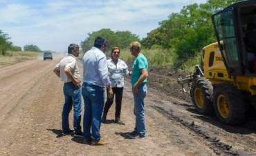 Con fondos provinciales se trabaja en la recuperación de la ruta provincial Nº 20 en Villaguay