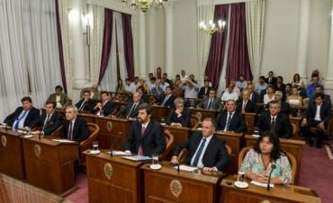 Los legisladores dieron apoyo al acuerdo fiscal de Bordet