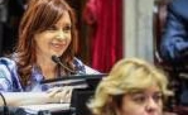 """Cristina se refirió al desafuero y le disparó a Michetti: """"No me gusta nada el gobierno que ustedes hacen"""""""