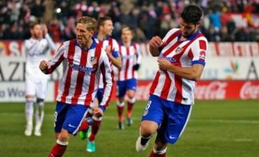 El Atlético venció al Real Madrid en el derby por la Copa del Rey