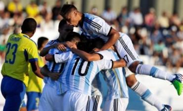 Argentina aplastó a Ecuador en el debut del Sudamericano sub 20
