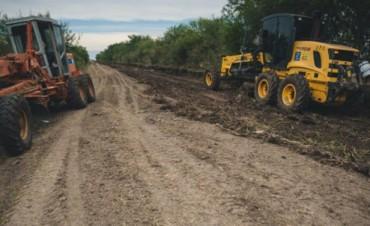 La Provincia trabaja en la recuperación de caminos afectados por las lluvias