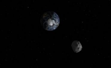 Un asteroide de gran tamaño pasará cerca de la Tierra el lunes