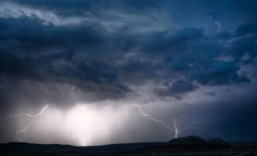 Alerta por tormentas fuertes abarca a Entre Ríos y gran parte del centro del país