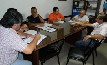 Municipio y Policía coordinan el operativo de seguridad para los días del Festival