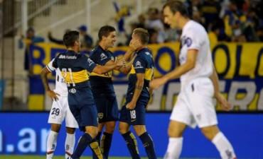 Boca venció a Vélez y se clasificó al Grupo 5 de la Libertadores