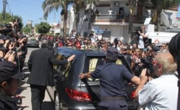 Los restos del fiscal fueron sepultados en el Cementerio Israelita de La Tablada