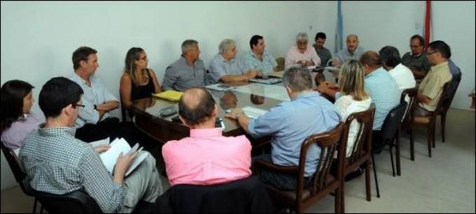 Directores de hospitales analizaron el sistema sanitario entrerriano junto al ministro De la Rosa